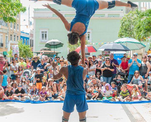 Vi er en Danmarks Internationale Gadeteaterfestival Valby