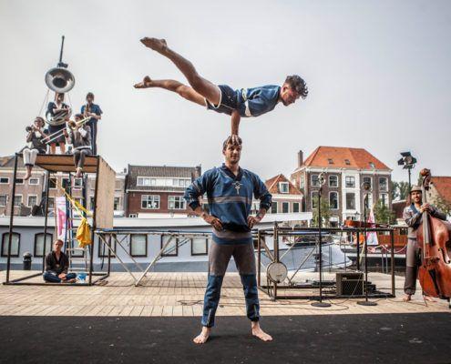 Sidste Prøve Danmarks Internationale Gadeteaterfestival Valby