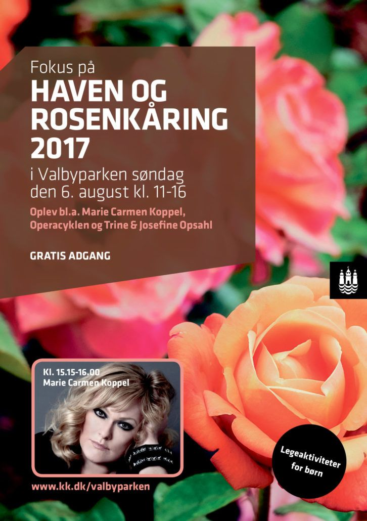 Rosenkåring 2017 Valbyparken Valby