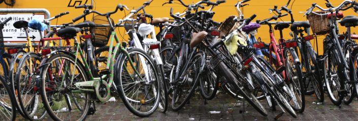 Cykelparkering Valby