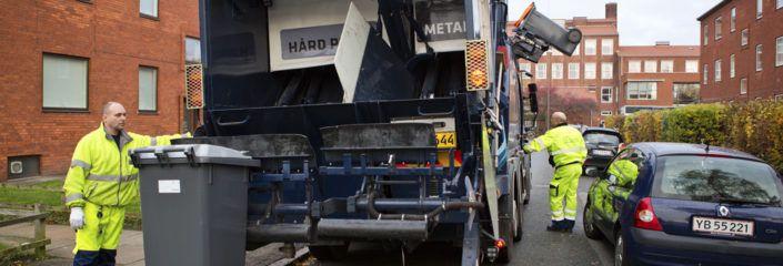 Affaldssorterings-indsats 3. november Valby Lokaludvalg