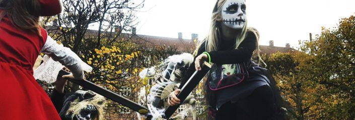 Halloween 2017 Valby Toftegårds Plads