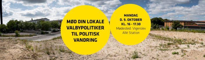 Politisk vandring Kulbanekvarteret Valby