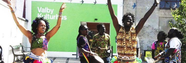 Lokalpuljen Valby afrikansk trommedans