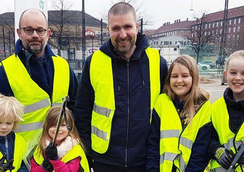 Store Forårsrengøring Valby 2018 april