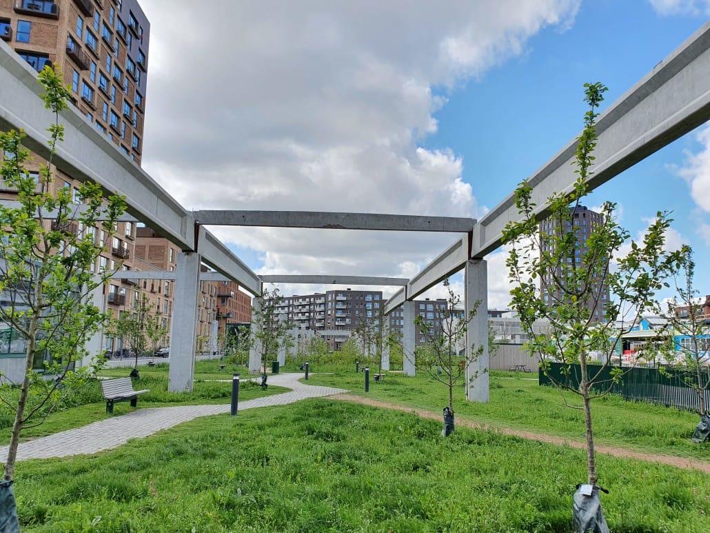 Grønttorvsparken Grønttorvet maj 2020 (23)