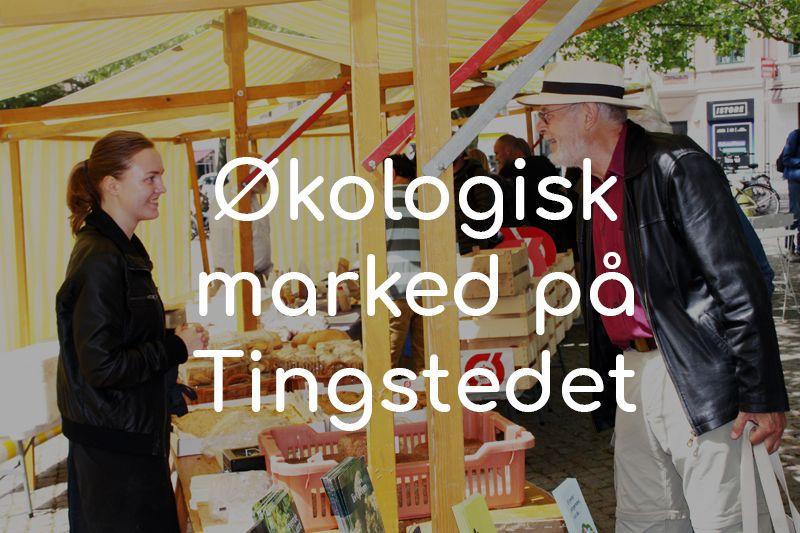 Økologisk Marked Valby Tingstedet 2018 knap