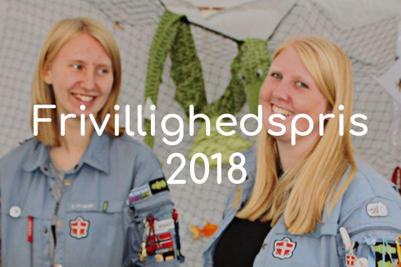 Frivillighedspris 2018 knap forsiden Valby Lokaludvalg