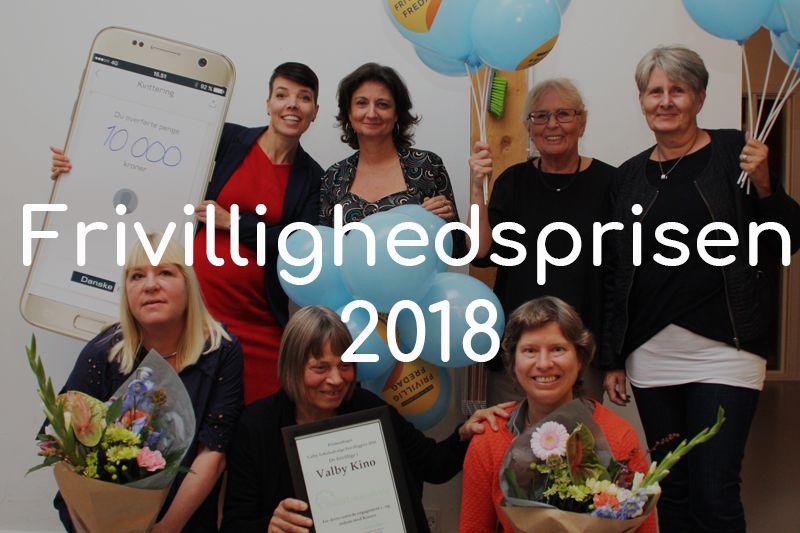 Frivillighedspris vinder Valby Kino knap forside