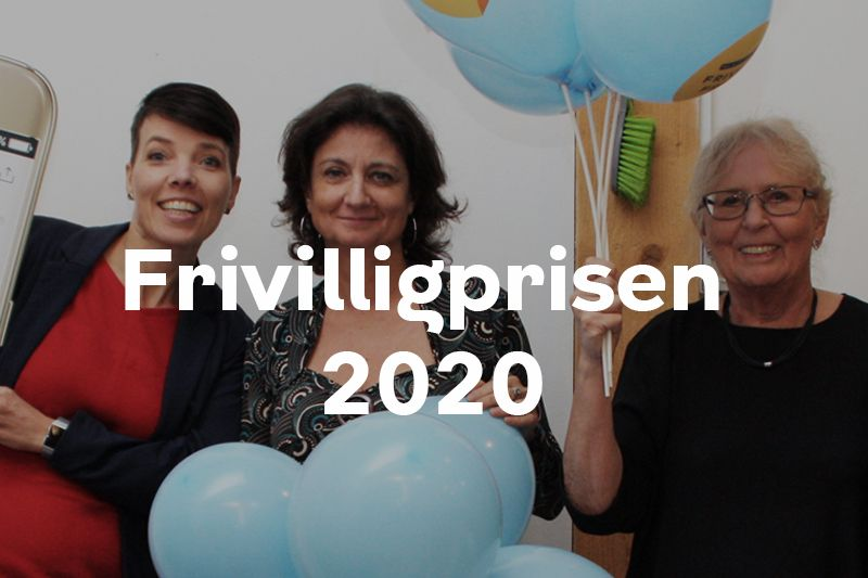 Frivilligpris 2020 knap forsiden