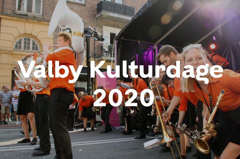 Knap forsiden Valby Kulturdage