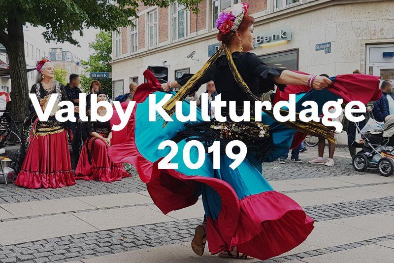 Knap forsiden Valby Kulturdage 2019