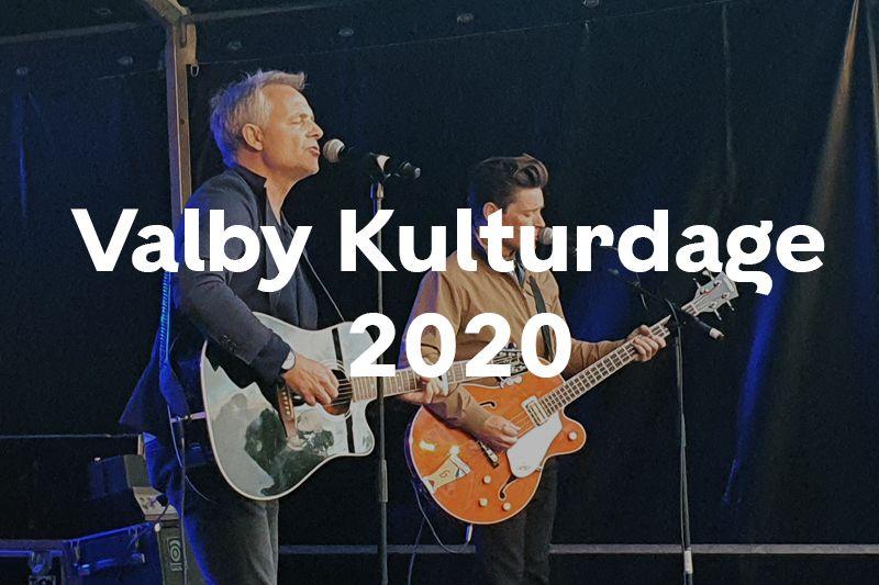 Knap forsiden Valby Kulturdage 2020 billeder