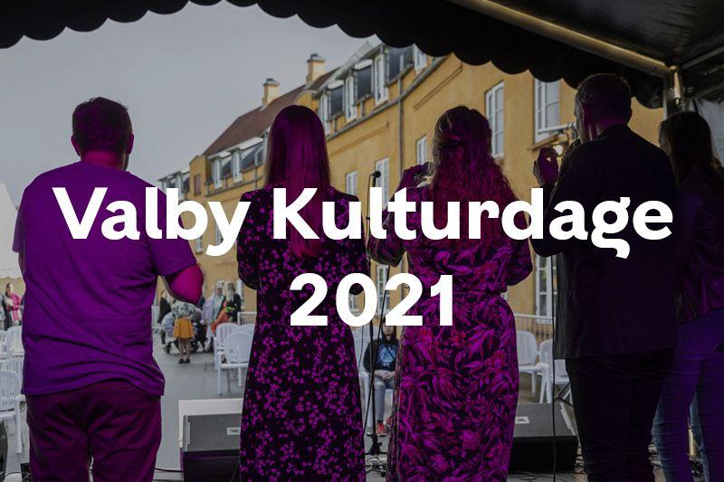 Knap forsiden Valby Kulturdage 2021