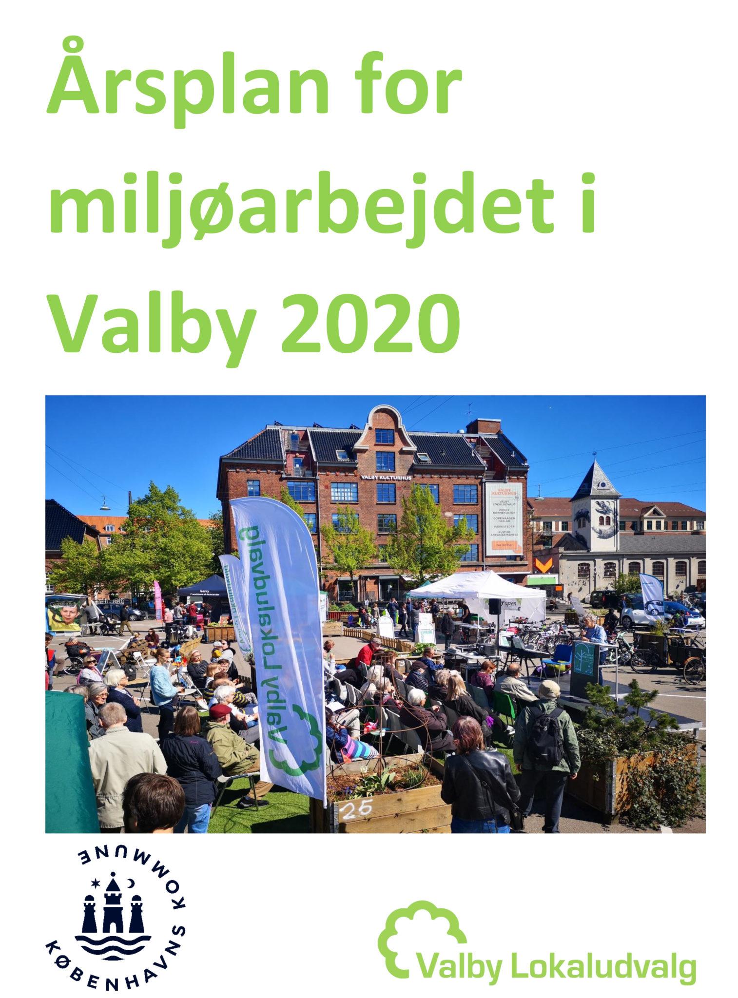 Årsplan og budget for Miljøarbejdet i Valby 2020 forside