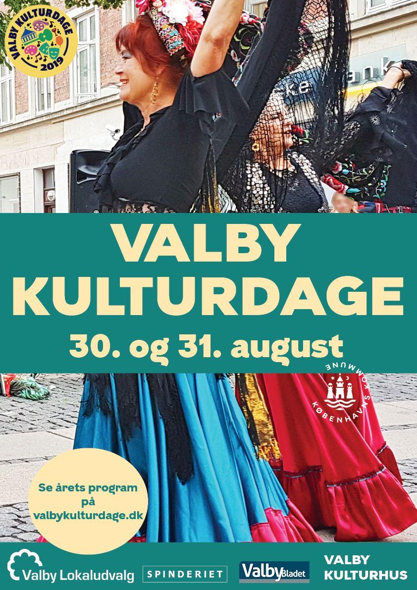 Plakat Valby Kulturdage 2019 folkedans final