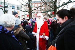 Juletræstænding Valby Tingsted 2016