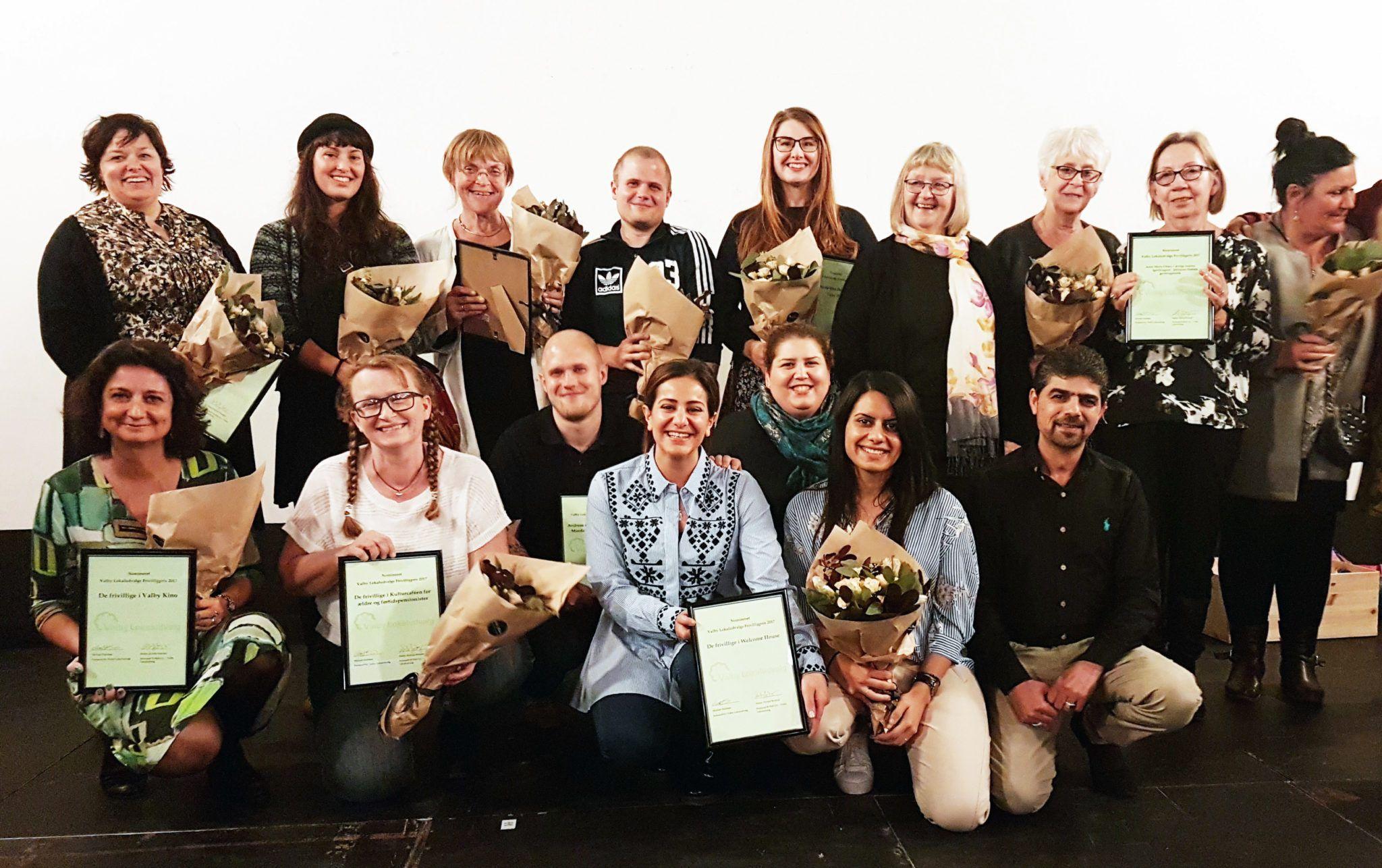 Frivillighedspris Valby Lokaludvalg 2017 indstillede
