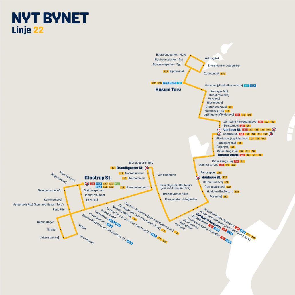 Nyt Bynet linje 22 Valby