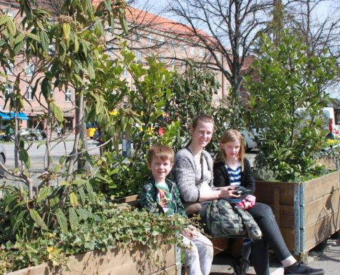 Toftegårds Plads siddemøbler Valby