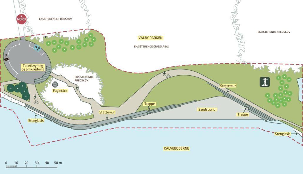 Badestrand Valbyparken bilag teknik- og miljøforvaltningen-9