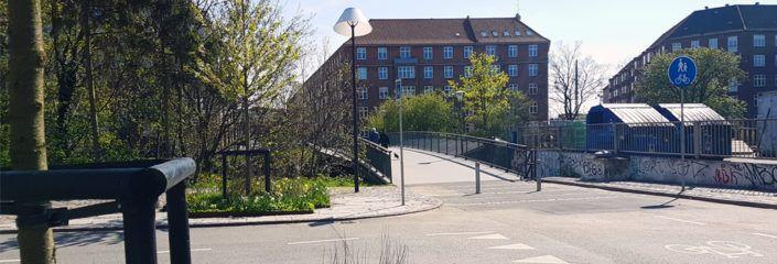 Hønsebroen Valby er åben