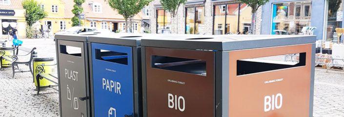 Forsøg med affaldssortering Valby Tingsted nyhed