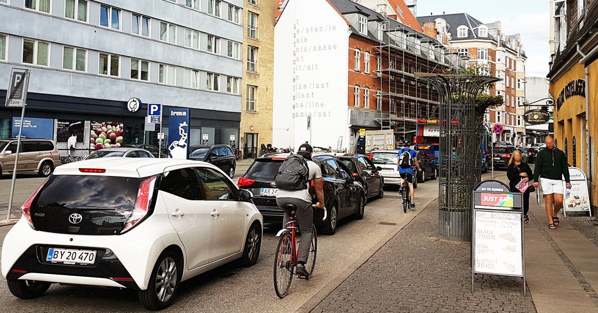 Cykelsti Valby Langgade nyhed 2 deling