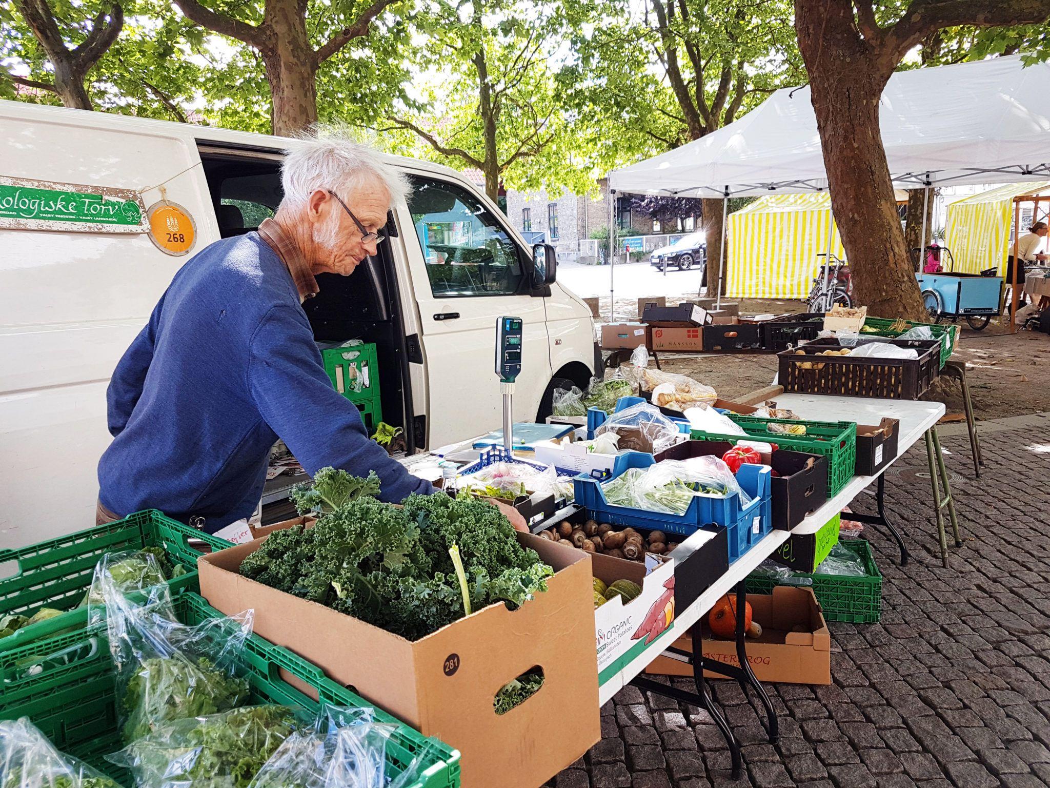 Jørgen økologisk marked