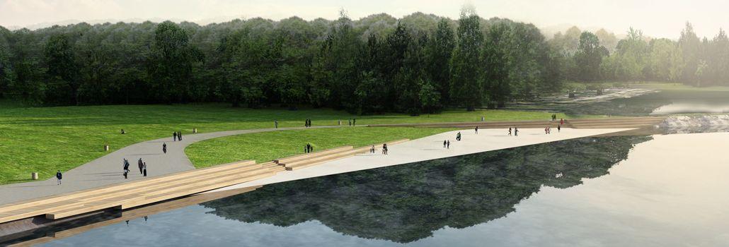Badestrand i Valbyparken borgermøde nyhed hjemmeside