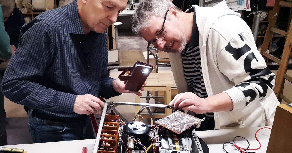 Reparationsnetværk Valby marts nyhed deling