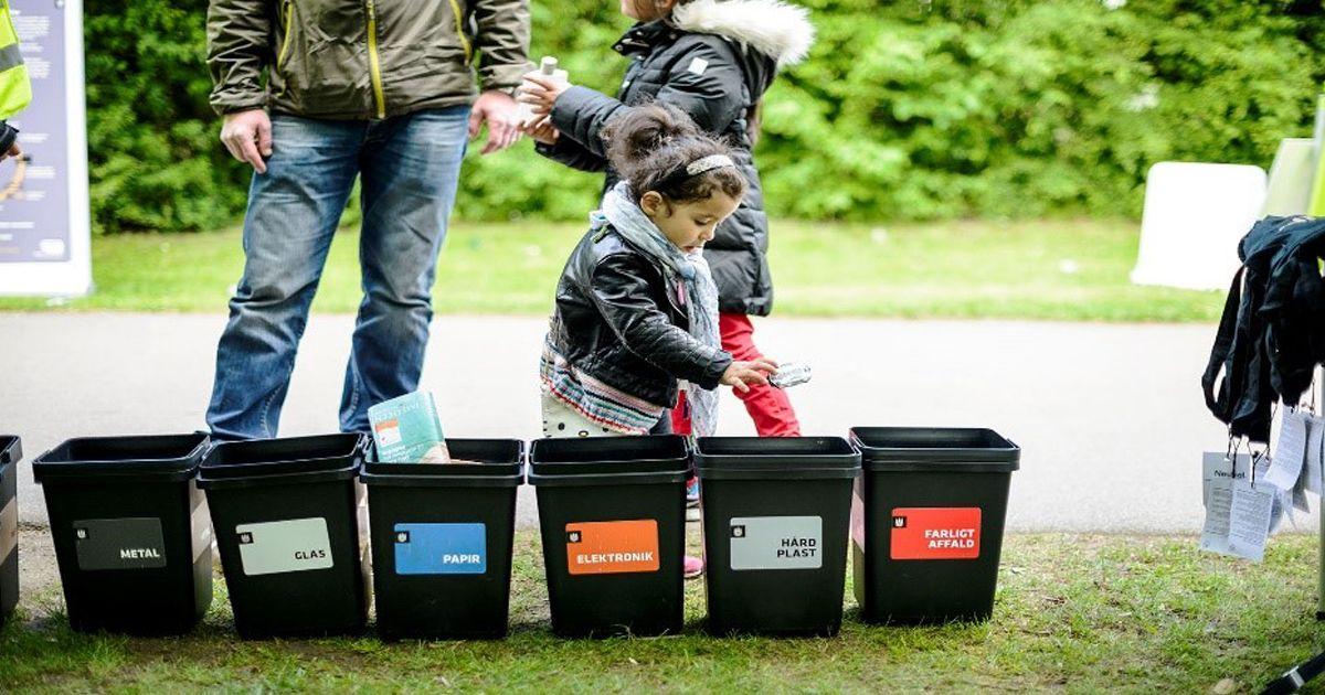 Klimafestival Valby 2019 KBH sorterer