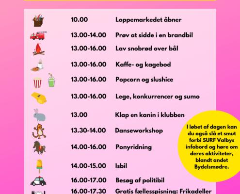 Naboskabsdag Valby program