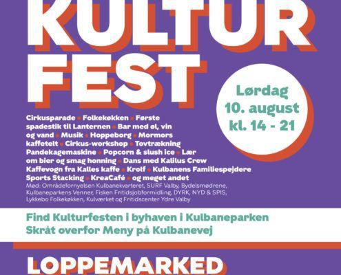 Kulturfest 2019 plakat