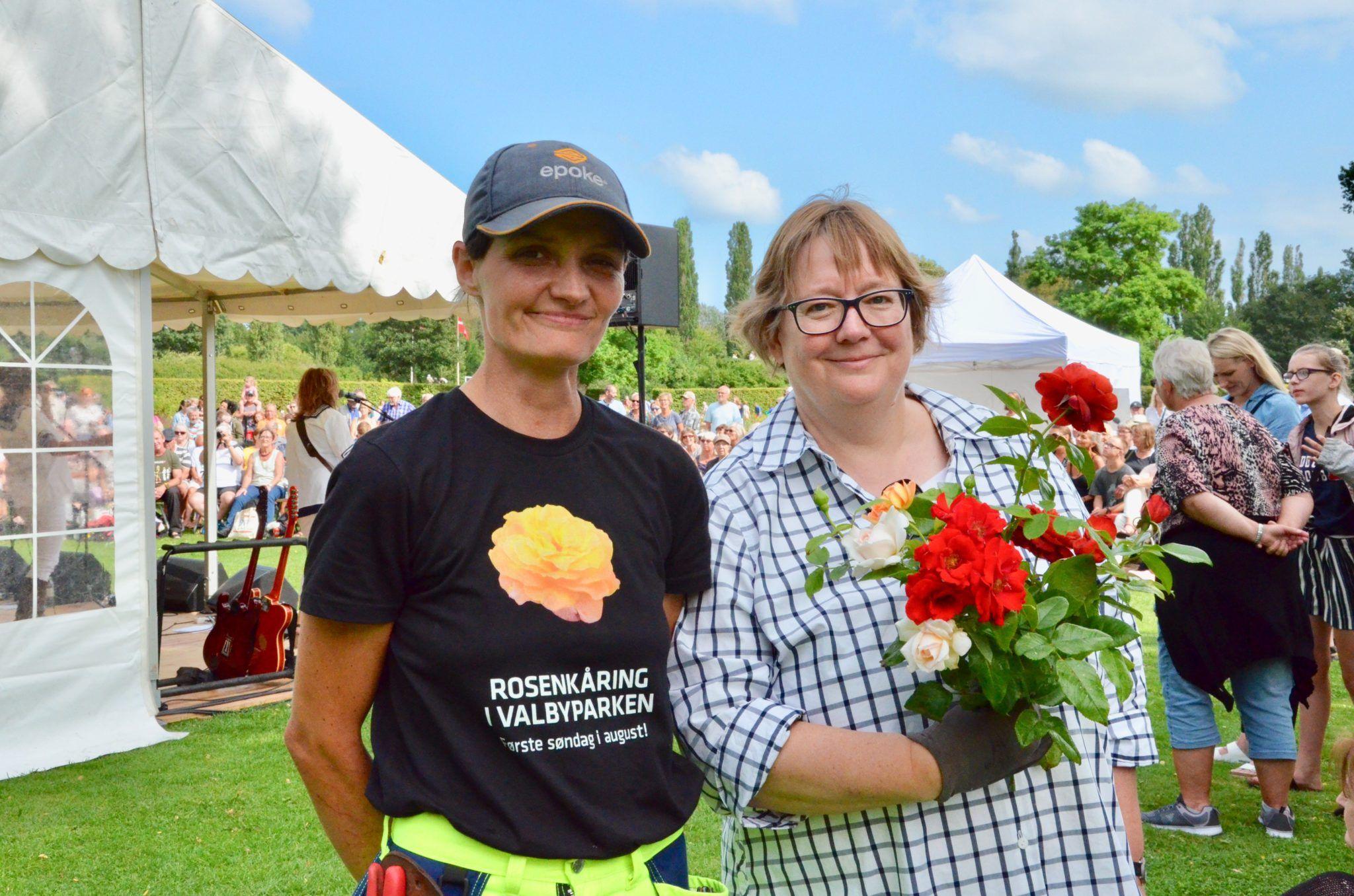 Dorthe og Nina Rosenkåring Valbyparken