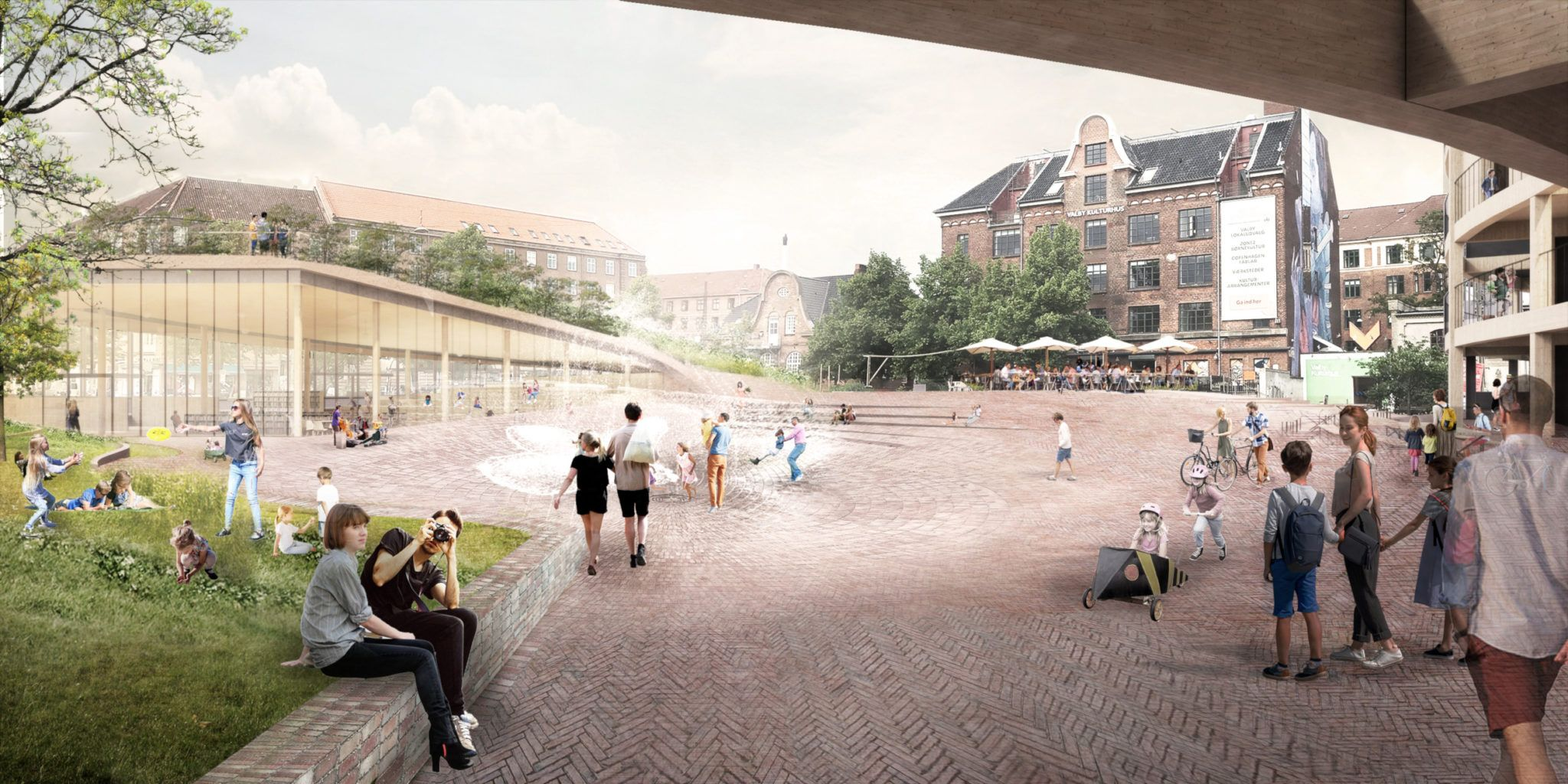 Toftegårds Plads helhedsplan