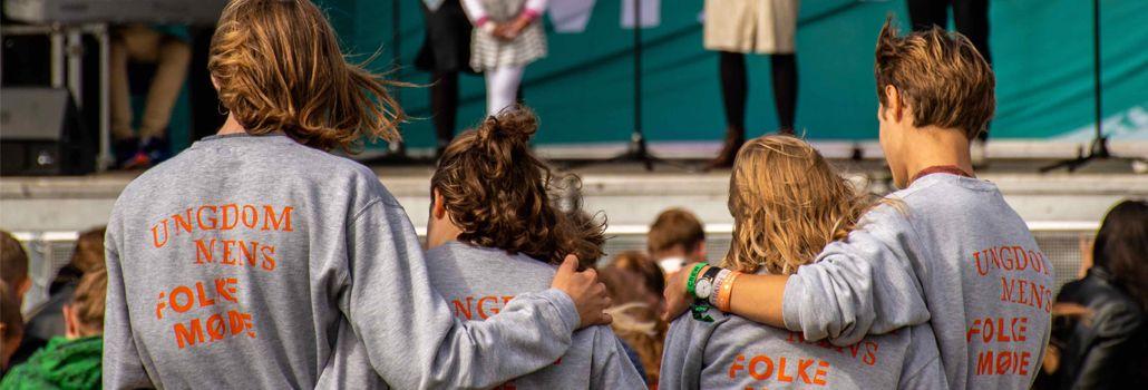 Ungdommens folkemøde frivillige nyhed
