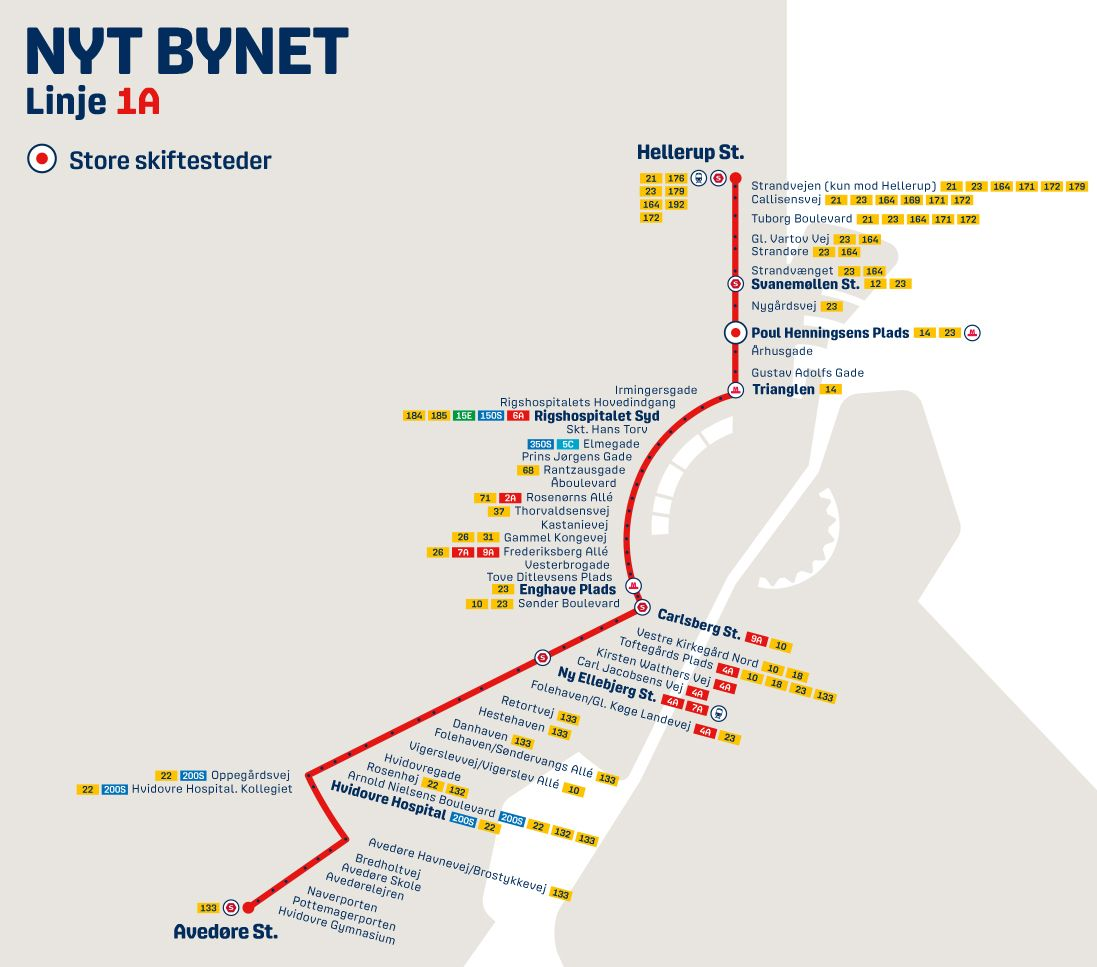 Nyt Bynet 2019 linje 1A