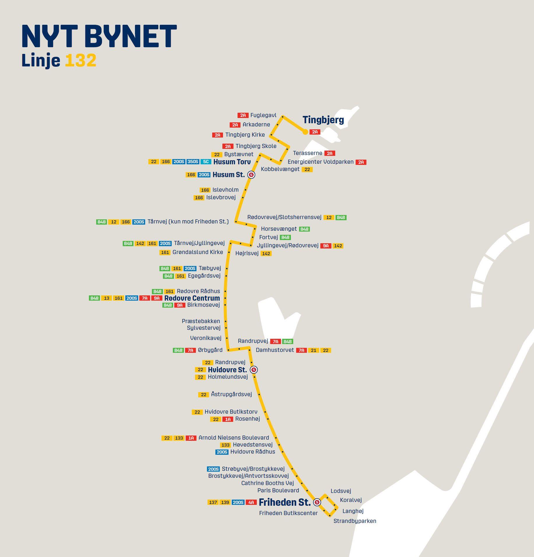 Nyt Bynet linje 132