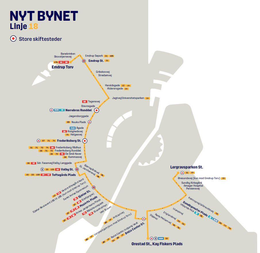 Nyt Bynet linje 18