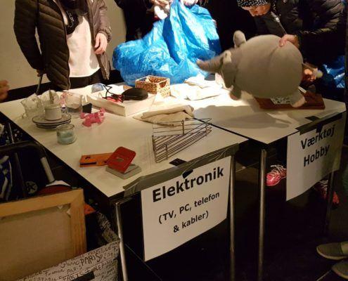 Byttemarked Valby Kulturhus miljøgruooen