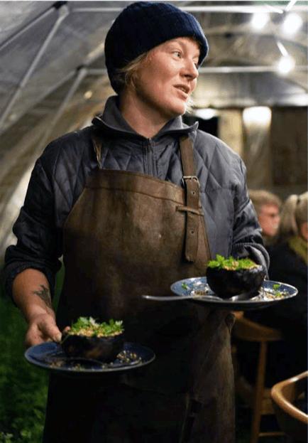 Klimavenlig fællesspisning Valby Miljøgruppe Eline