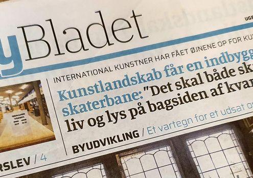 Valby Erhvervsnetværk besøg Valbybladet nyhed