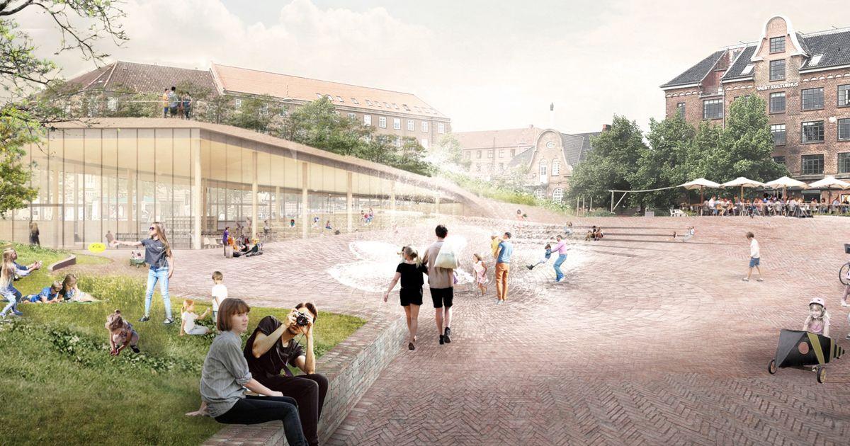 Bibliotek Toftegårds Plads Valby nyhed deling