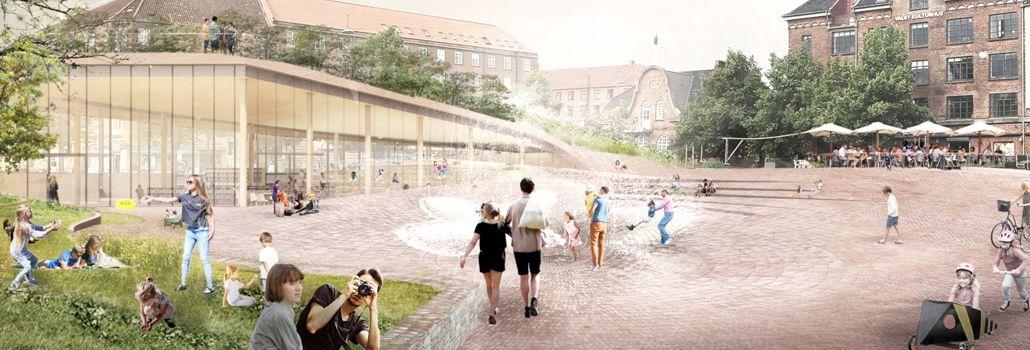 Bibliotek Toftegårds Plads Valby nyhed
