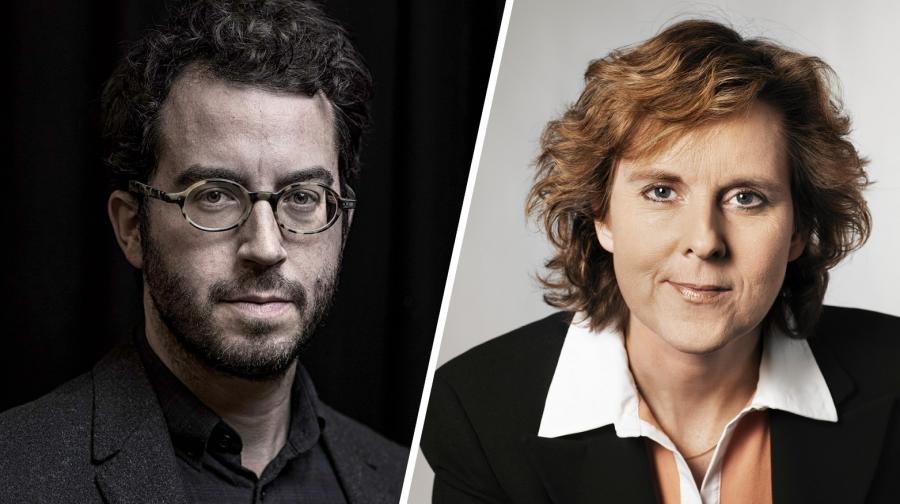Live-streaming: Jonathan Safran Foer interviewes af Connie Hedegaard