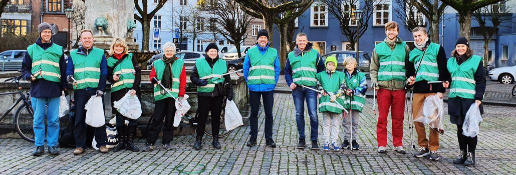 Dråben i havet affaldsindsamling nyhed