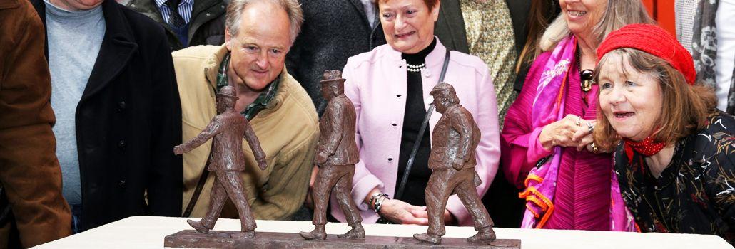 Olsenbanden statue folkeaktier nyhed