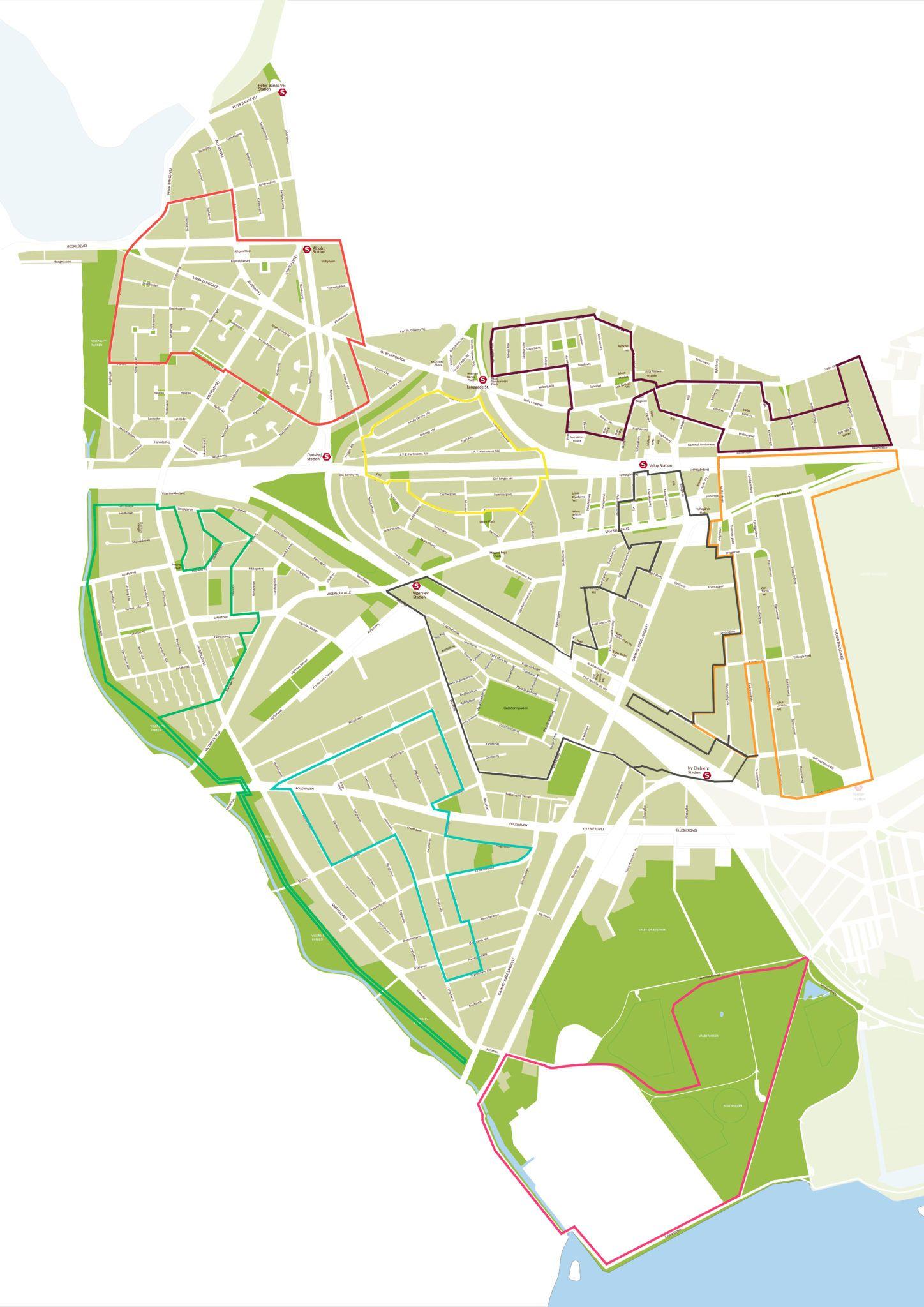Nyt kort til Valbyruter med ruter 2021