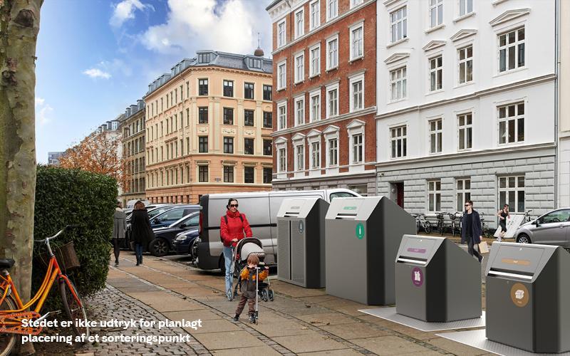 Sorteringspunkter københavns kommune